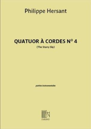 Quatuor à cordes n° 4 - Parties séparées - laflutedepan.com