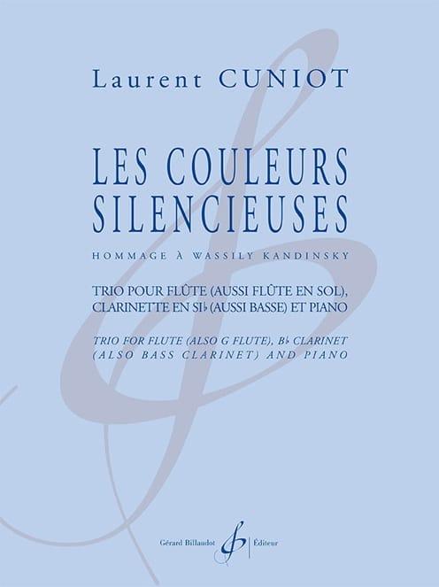 Les Couleurs silencieuses - Trio Flûte, Clarinette et piano - laflutedepan.com