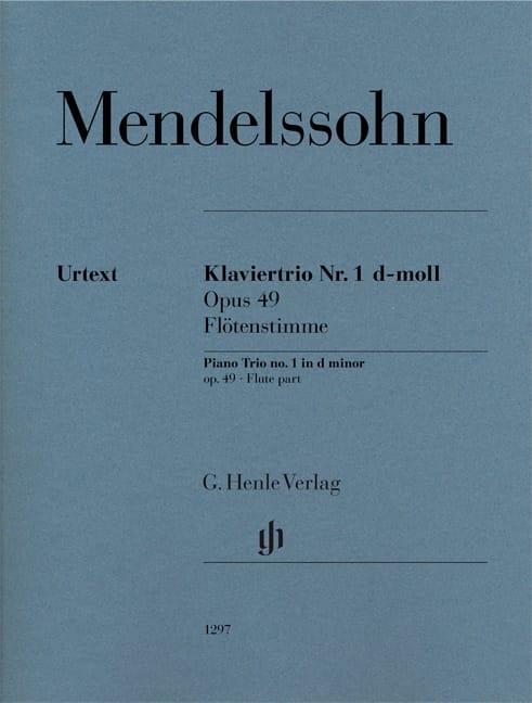 Trio en ré mineur, op. 49 n° 1 - Partie de Flûte - laflutedepan.be