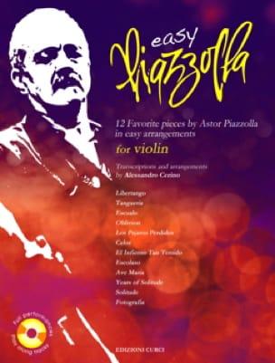 Astor Piazzolla - Easy Piazzolla - Violín - Partition - di-arezzo.es