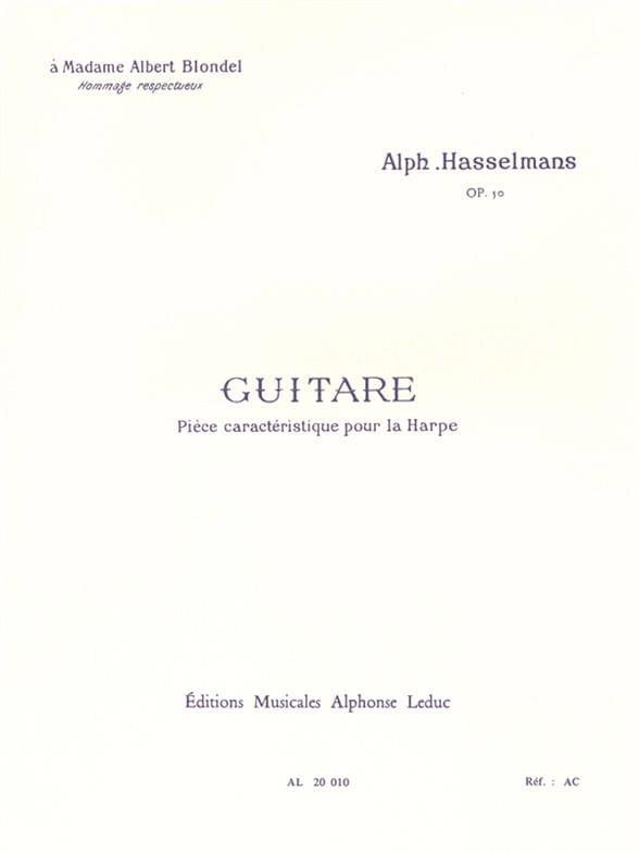 Guitare Opus 50 - Alphonse Hasselmans - Partition - laflutedepan.com