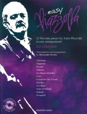 Easy Piazzolla - Clarinette - Astor Piazzolla - laflutedepan.com