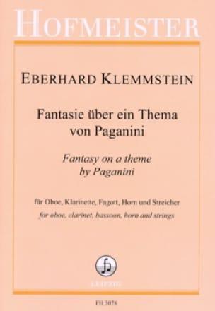 Fantaisie sur un thème de Paganini - Nonette - laflutedepan.com