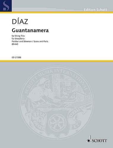 Guantanamera - Trio à Cordes - José Fernandez Diaz - laflutedepan.com