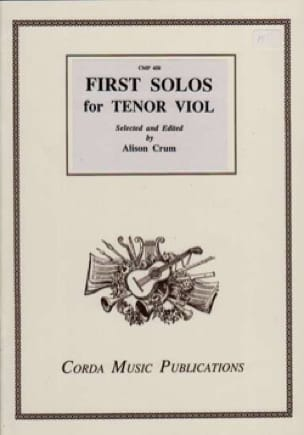 First Solos for Tenor Viol - Partition - laflutedepan.com