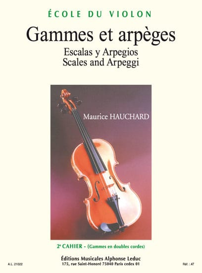 Maurice Hauchard - Ranges and Arpeggios Volume 2 - Partition - di-arezzo.it