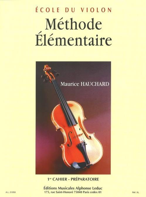 Maurice Hauchard - Basic Method - Book 1 - Partition - di-arezzo.co.uk