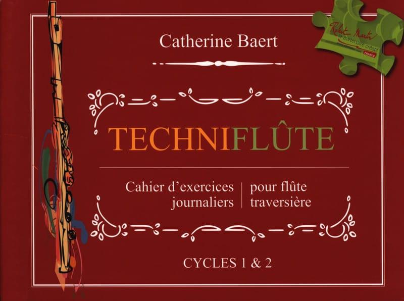 Techniflûte - Catherine Baert - Partition - laflutedepan.com