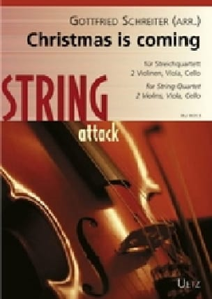 Christmas is coming - Quatuor à cordes - Noëls - laflutedepan.com