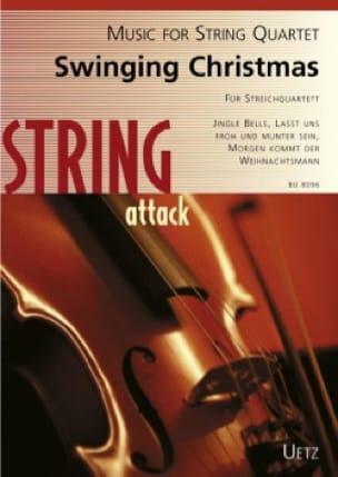 Swinging Christmas - Quatuor à Cordes - Noëls - laflutedepan.com