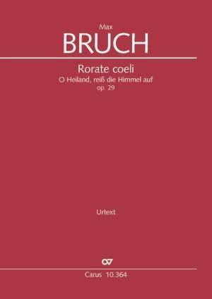 Rorate coeli, op. 29 - Conducteur - BRUCH - laflutedepan.com