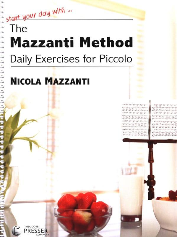 The Mazzanti Method - Nicola Mazzanti - Partition - laflutedepan.com