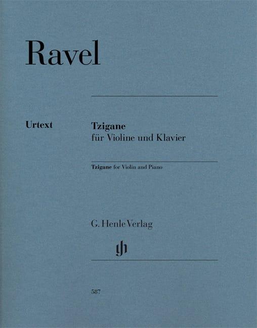 Maurice Ravel - Gypsy - Violín y piano - Partition - di-arezzo.es