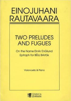 Two Preludes and Fugues - Einojuhani Rautavaara - laflutedepan.com