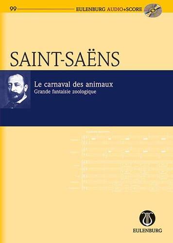 Camille Saint-Saëns - Le Carnaval des Animaux - Conducteur - Partition - di-arezzo.fr