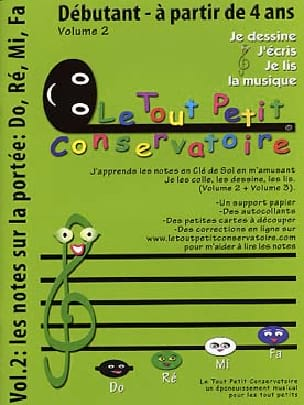 Philippe Kaczmarek - I draw, write, read music - Volume 2 - Partition - di-arezzo.co.uk