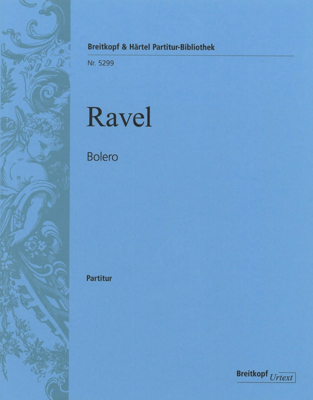 Boléro - RAVEL - Partition - Grand format - laflutedepan.com