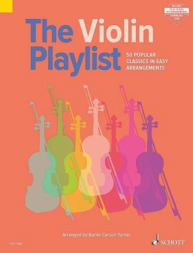 The Violon Playlist - Violon - Partition - laflutedepan.com