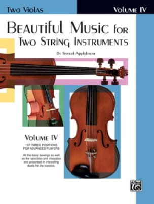 Beautiful Music for two string instruments - Volume 4 - laflutedepan.com
