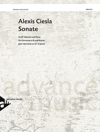 Alexis Ciesla - Sonata - Clarinet and piano - Partition - di-arezzo.com