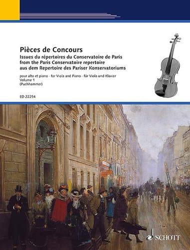 Pièces de concours Vol. 1 - Alto et piano - laflutedepan.com