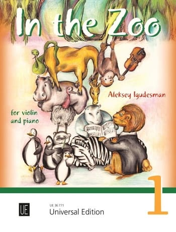 In the Zoo volume 1 - Violon et piano - laflutedepan.com