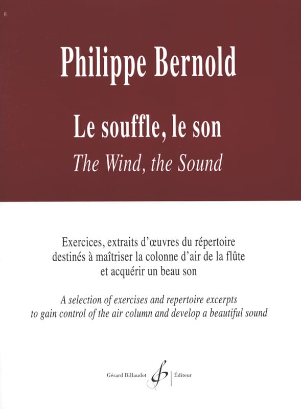 Philippe Bernold - The breath The sound - Partition - di-arezzo.co.uk