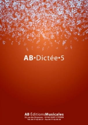 AB Dictée - vol. 5 - Partition - laflutedepan.com