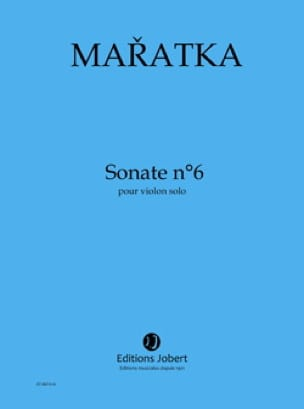 Sonate n° 6 - Violon solo - Krystof Maratka - laflutedepan.com