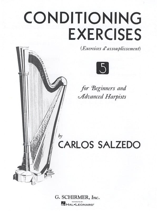 Conditioning Exercises - Carlos Salzedo - Partition - laflutedepan.com