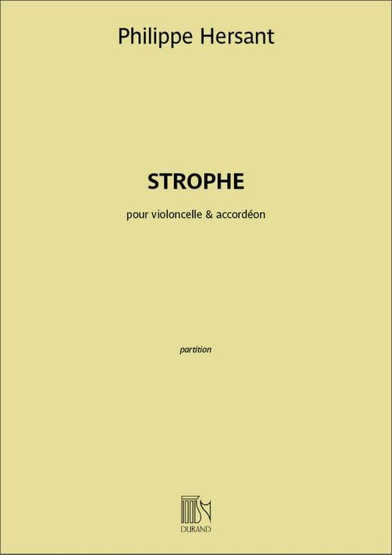 Strophe - Violoncelle et Accordéon - laflutedepan.com