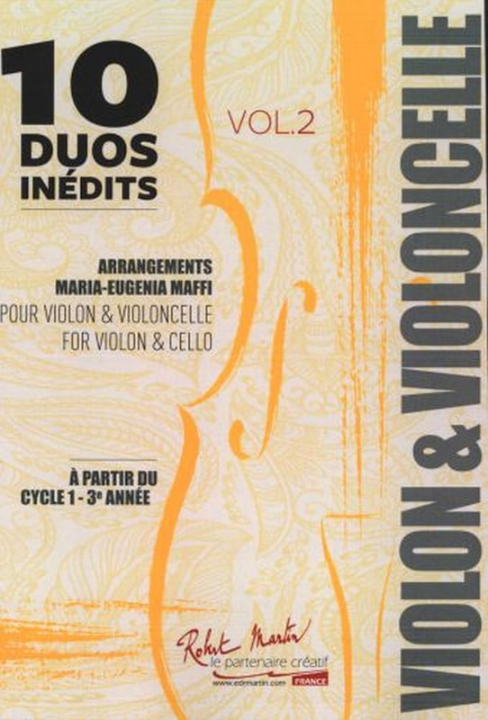 - 10 Unpublished Duos - Volume 2 - Partition - di-arezzo.co.uk