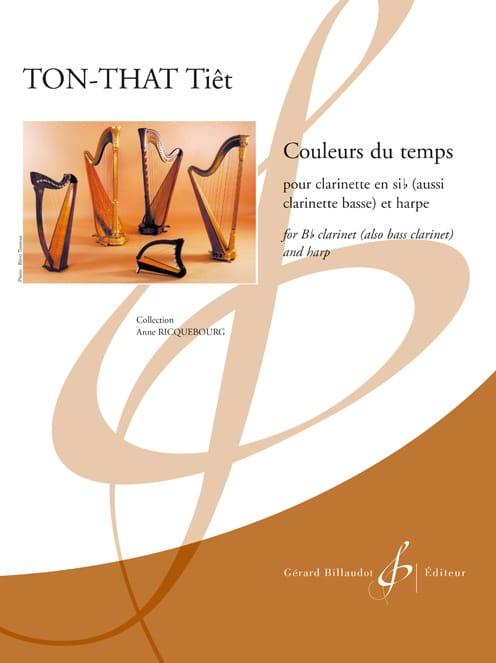 Couleurs du temps - Clarinette et harpe - laflutedepan.com