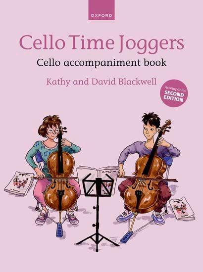 Cello Time Joggers - Cello accompaniment book - laflutedepan.com