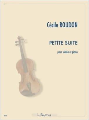 Petite Suite - Cécile Roudon - Partition - Violon - laflutedepan.com