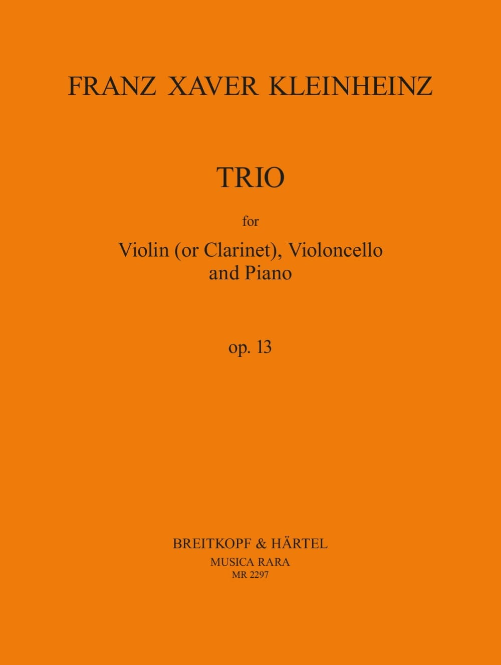 Trio in E flat major Opus 13 - laflutedepan.com