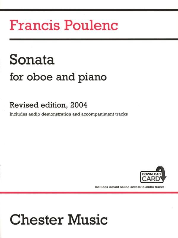 Francis Poulenc - Sonate Download Card - Oboe and piano - Partition - di-arezzo.com