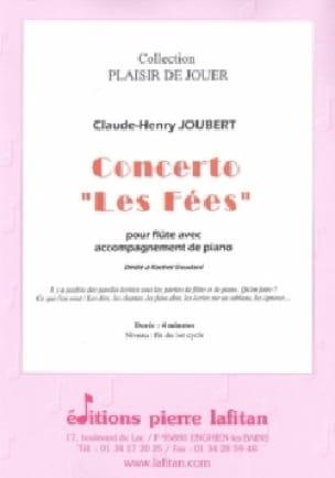 Concerto Les fées - Claude-Henry Joubert - laflutedepan.com