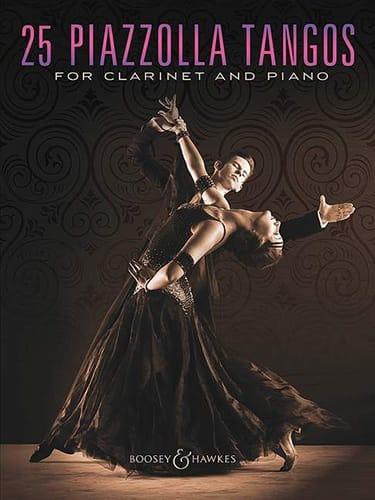 Astor Piazzolla - 25 tangos Piazzolla para clarinete y piano - Partition - di-arezzo.es