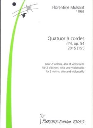 Quatuor à Cordes n° 4 - Parties + Conducteur - laflutedepan.com