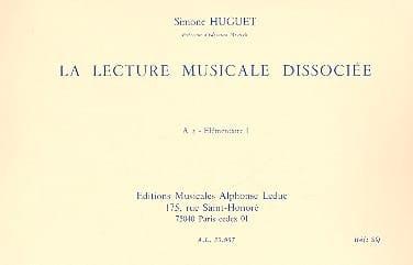 Simone Huguet - Dissociated music playback - A2 - Elém. 1 - Partition - di-arezzo.com
