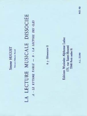 Lecture musicale dissociée - A3 - Elém. 2 - laflutedepan.com