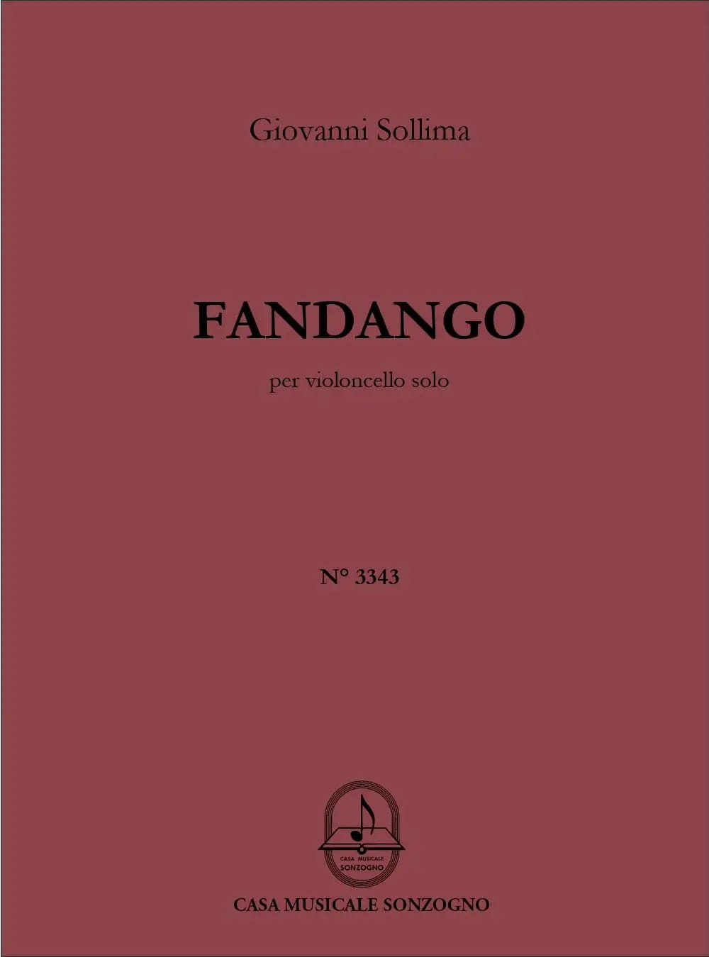 Fandango - Giovanni Sollima - Partition - laflutedepan.com
