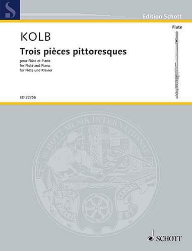 Trois 3 pièces pittoresques - Oliver Kolb - laflutedepan.com