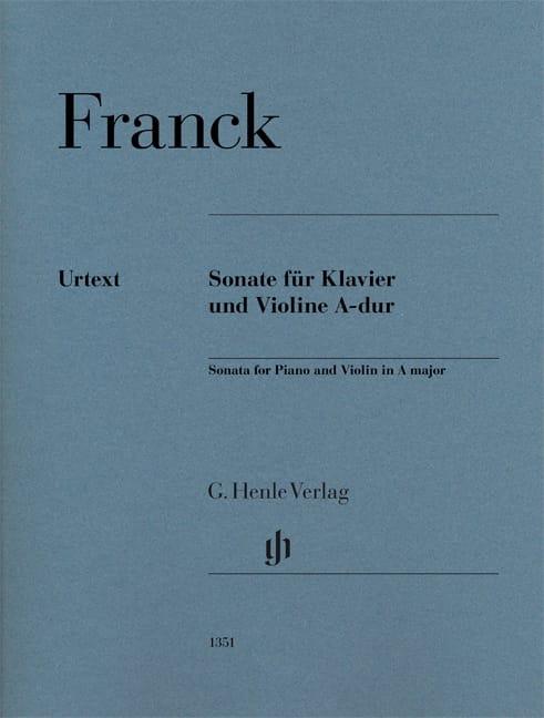 César Franck - Sonata for Violin in A major - Urtext - Partition - di-arezzo.co.uk