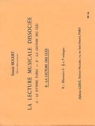 Simone Huguet - Dissociated music playback - B3 - Elém. 2 - Partition - di-arezzo.com