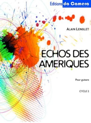 Echos des Ameriques - Alain Lenglet - Partition - laflutedepan.com