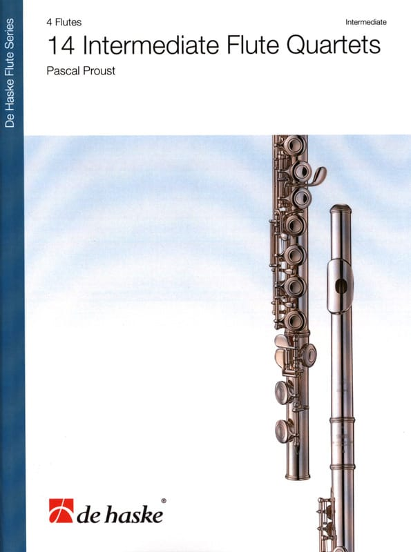 Pascal Proust - 14 Intermediate Flute Quartet - Partition - di-arezzo.co.uk