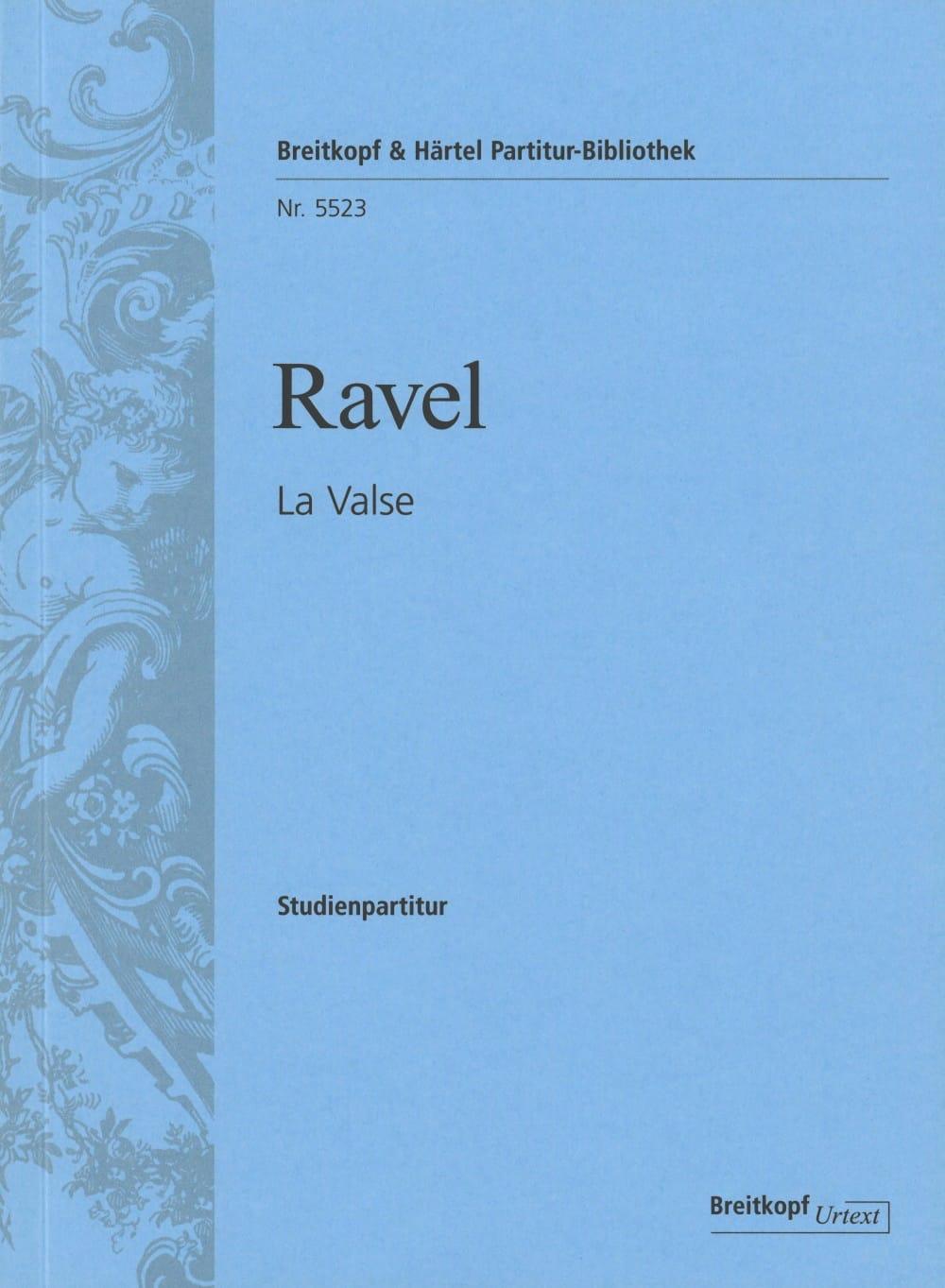 La Valse - RAVEL - Partition - Petit format - laflutedepan.com