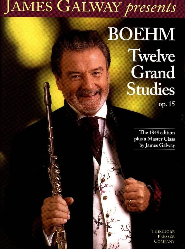 Twelve Grand Studies, Opus 15 - Theobald Boehm - laflutedepan.com